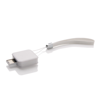 Square USB Stick - 8 GB, white