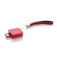 Square USB Stick - 8 GB, red