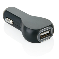 USB car charger, black