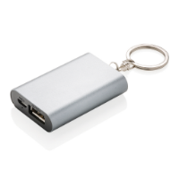 1.000 mAh keychain powerbank, anthracite