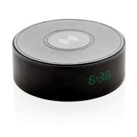 Wireless 5W charging alarm clock speaker