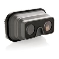 Foldable silicone VR glasses, black