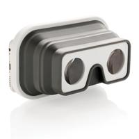 Foldable silicone VR glasses, white