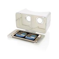 Extendable VR glasses, white