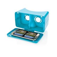 Extendable VR glasses, blue