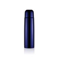 Stainless steel flask, purple blue