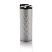 Geometric tumbler, silver