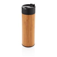 Bogota vacuum bamboo coffee mug