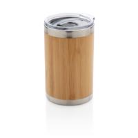 Bamboo coffee to go tumbler