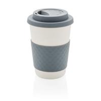 ECO Bamboo fibre coffee cup, grey