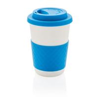 ECO Bamboo fibre coffee cup, blue