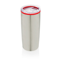 Modern double wall tumbler, red