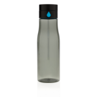 Aqua hydration tracking tritan bottle