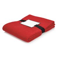 Luxury blanket, red