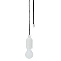 Pull lamp, white