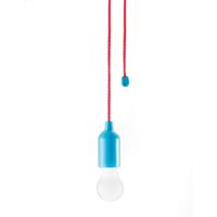 Pull lamp, blue