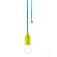 Pull lamp, green