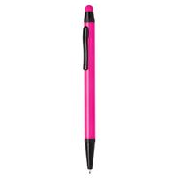 Aluminium slim stylus pen, pink