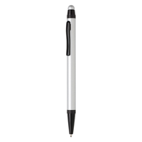Aluminium slim stylus pen, silver