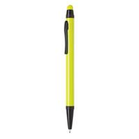 Aluminium slim stylus pen, lime