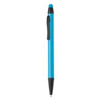 Aluminium slim stylus pen, light blue