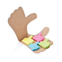 Like it sticky notes, brown