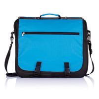 Exhibition bag, blue