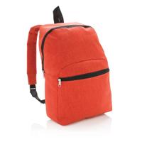 Classic two tone backpack, orange