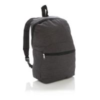 Classic two tone backpack, dark grey