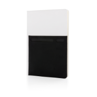 A5 Deluxe notebook with smart pockets