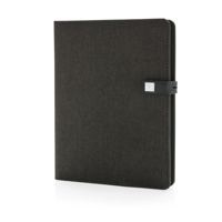Kyoto power & usb notebook, black