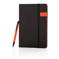 Deluxe 8GB USB notebook with stylus pen