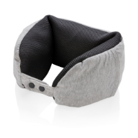Deluxe microbead travel pillow
