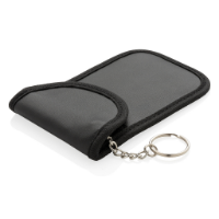 Anti theft RFID car key pouch