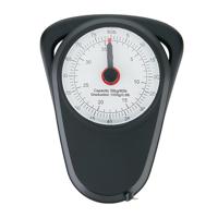 Manual luggage scale, black
