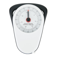 Manual luggage scale, white