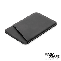 Magnetic phone card holder