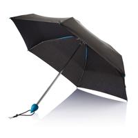"""19.5"""" Droplet pocket umbrella, blue"""