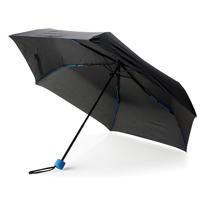 "Coloured 21"" fiberglass foldable umbrella, royal blue"