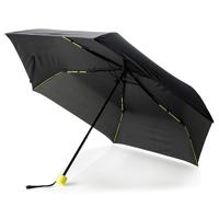 """Coloured 21"""" fiberglass foldable umbrella, lime"""