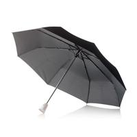 """21,5"""" Brolly 2 in 1 auto open/close umbrella, white"""