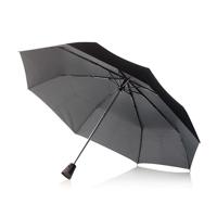 """21,5"""" Brolly 2 in 1 auto open/close umbrella, black"""