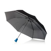 """21,5"""" Brolly 2 in 1 auto open/close umbrella, blue"""