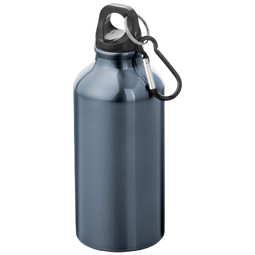 Oregon drinking bottle with carabiner in navy