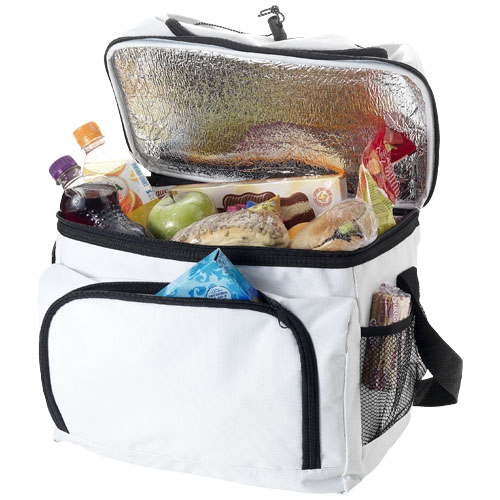 Gothenburg cooler bag in white-solid