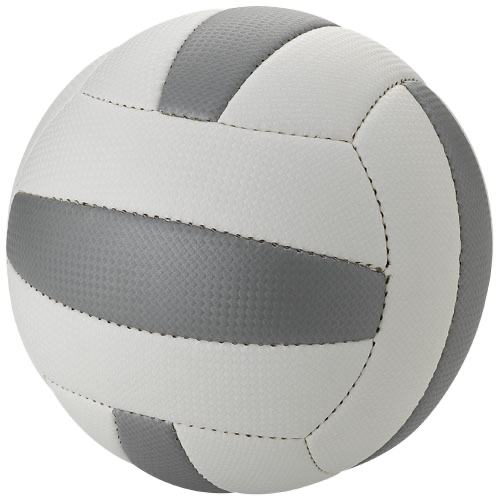 Nitro size 5 beach volleyball in white-solid-and-grey