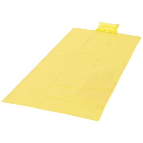 Riviera beach mat in yellow