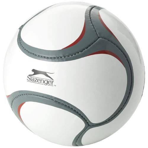 Libertadores size 5 football in white-solid-and-grey