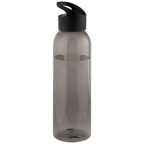 650 ml Tritan sport bottle in black-solid