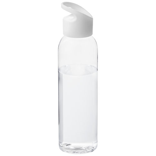 Sky bottle in transparent-and-white-solid